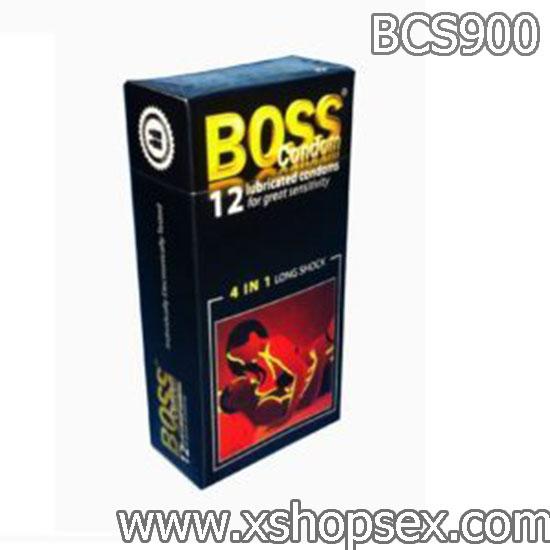 Bao cao su Boss 12s 4 trong 1
