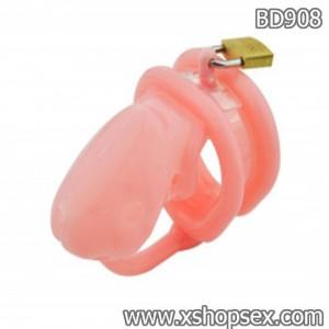 Dụng cụ bạo dâm khóa dương vật bằng silicon mềm
