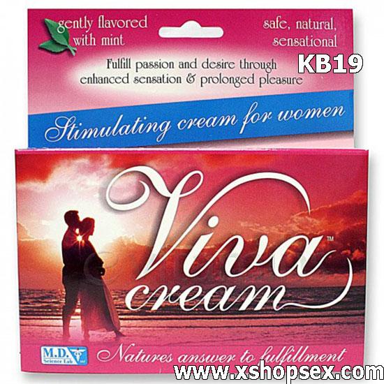 Gel bôi kích thích âm đạo nữ giới Viva