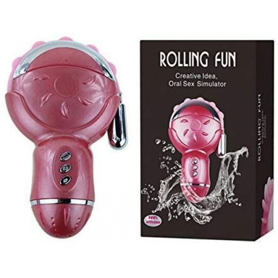 Máy liếm âm đạo đa năng Rolling fun II, làm tình bắn nước bướm