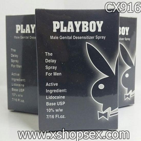 Chai xịt Playboy chống xuất tinh sớm cực kỳ hiệu quả