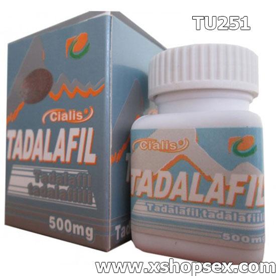 Tadalafil 500mg 10 viên trị rối loạn cương dương ở nam giới yếu sinh lý