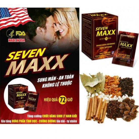 Thảo dược Seven max chửa yếu sinh lý tức nhập khẩu Mỹ