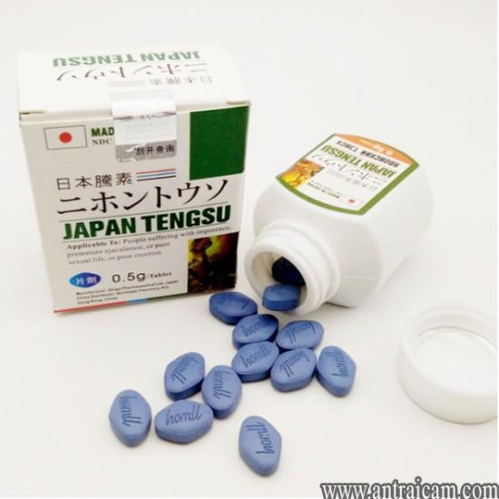 Thuốc cương nhanh, lâu ra Japan Tengsu của Nhật Bản