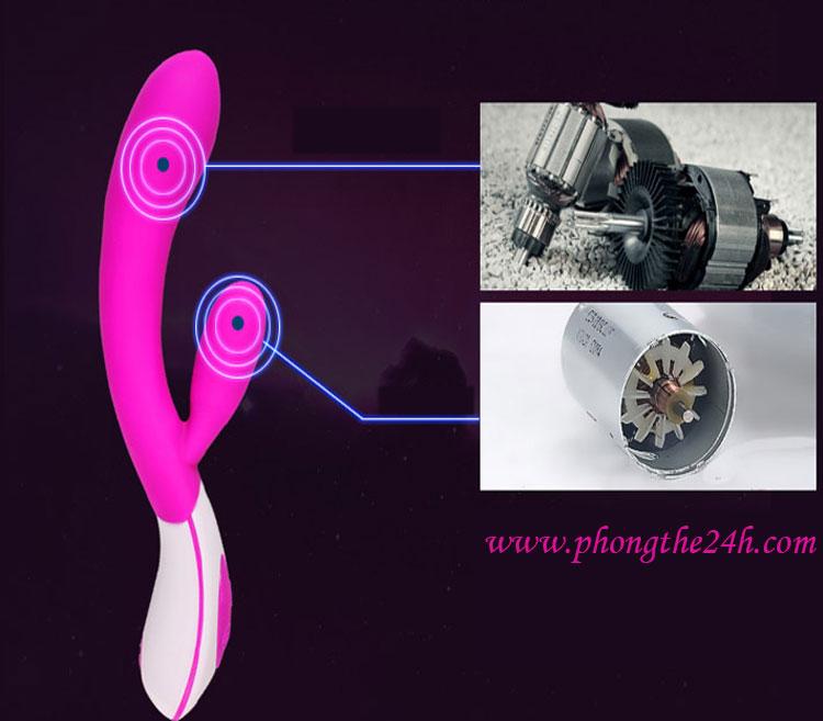 Dương vật giả màu hồng quyến rủ - đồ chơi sung sướng cho phái nữ